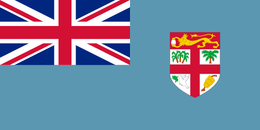 Flag of fiji flag.
