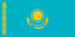 Flag of kazakhstan flag.