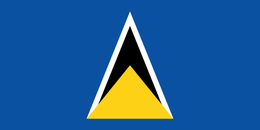 Flag of saint-lucia flag.