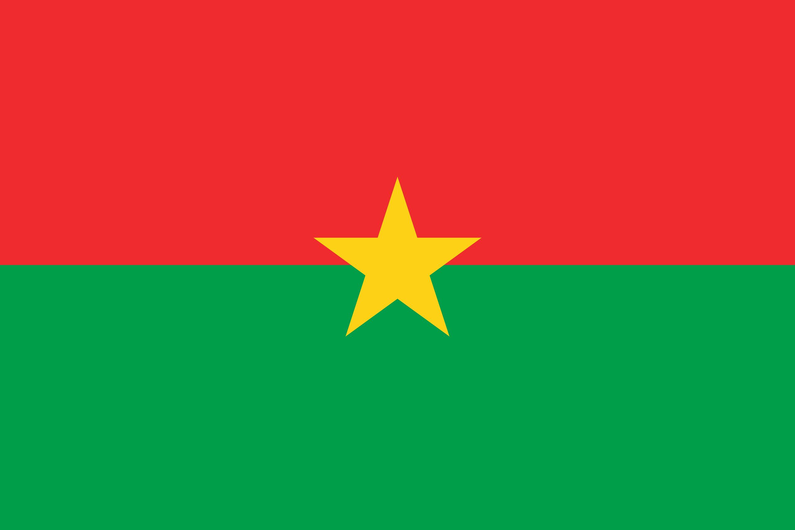Flag of Burkina Faso