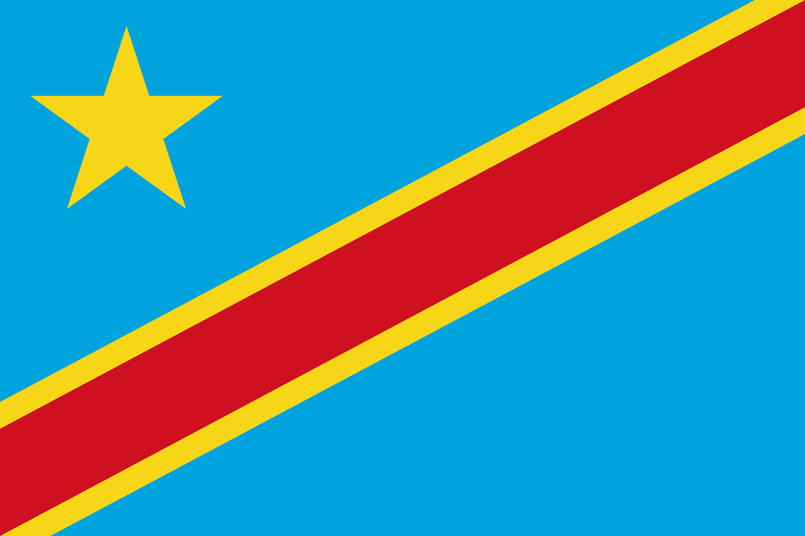 Flag of Democratic Republic of the Congo