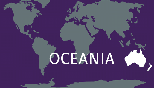 Continent of Oceania